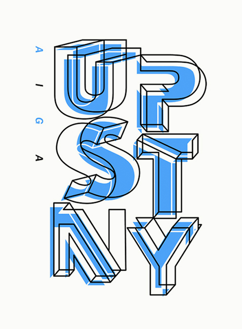 AIGA UPSTNY by Adam Maida