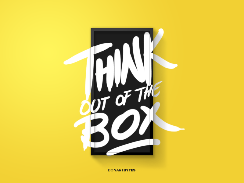 Think Out Of The Box by Donart Selimi