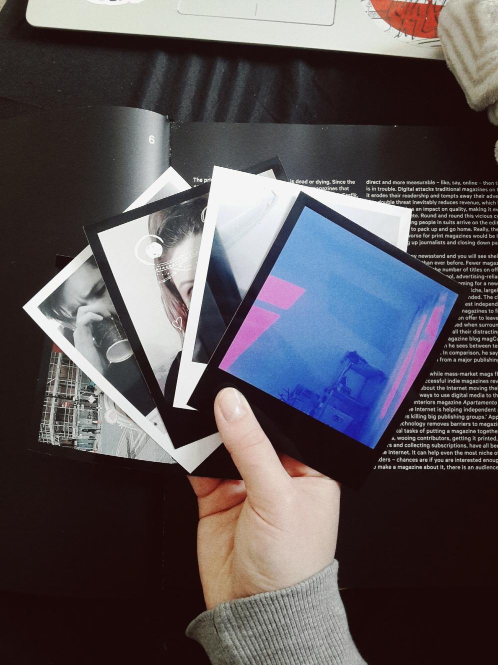 vintage polaroid prints