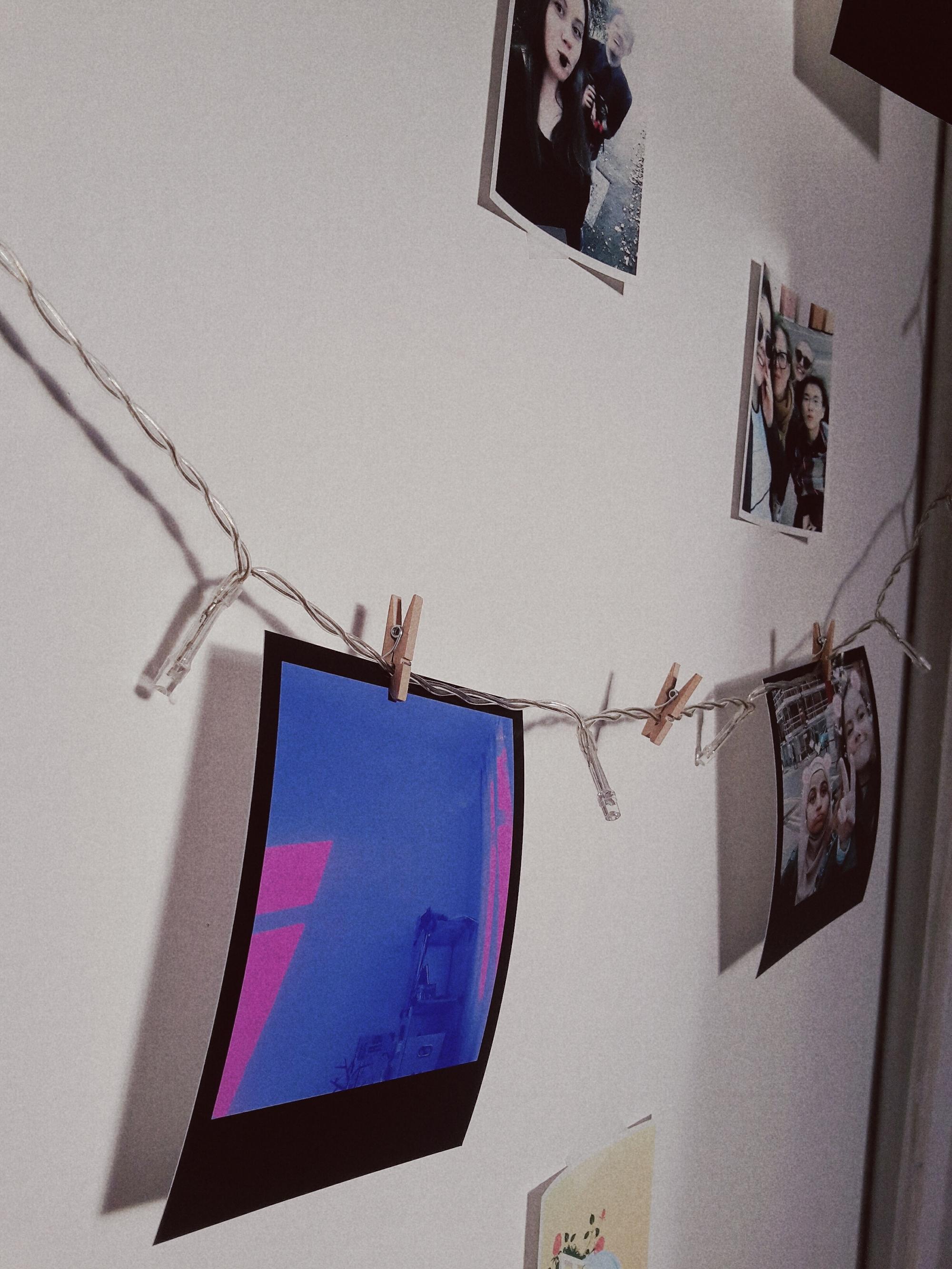 polaroid wall 2
