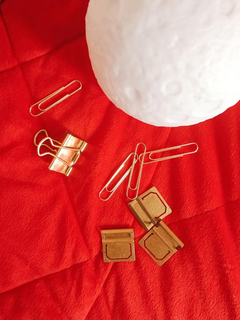 Etsy Planner Haul Brass Tabs CrossbowPrintables