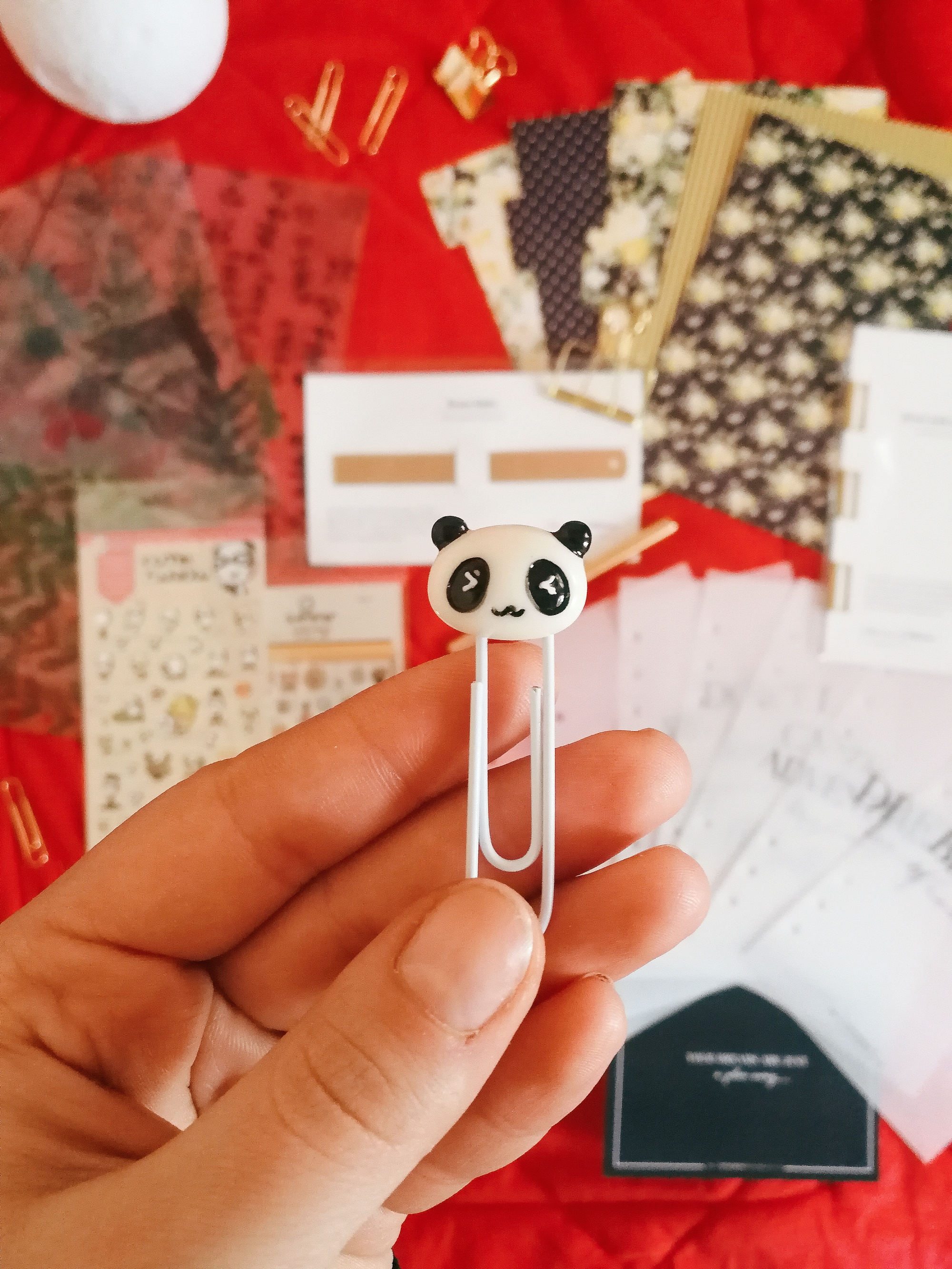 Planner Etsy Haul Panda Paper Clip ThePensnicketyCo